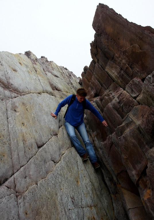 Klippenwanderung bei Clogher, Westküste Dingle