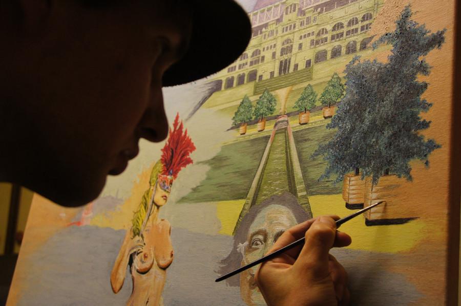 """""""Barcelonapur""""...Öl auf Leinwand 2012, 80x80 cm"""