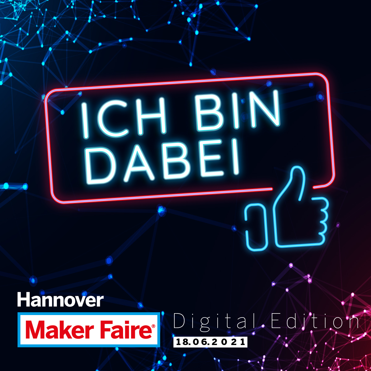 Maker Faire Hannover 2021 - Digital Edition 1/2