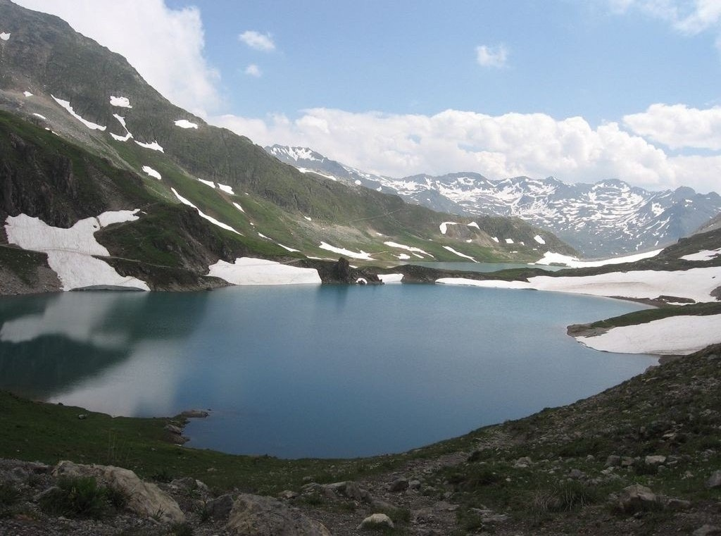 le lac du grand Ban à Valloire