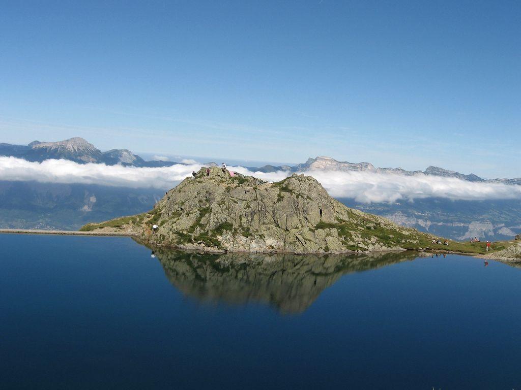 le lac Crozet (Belledonne)