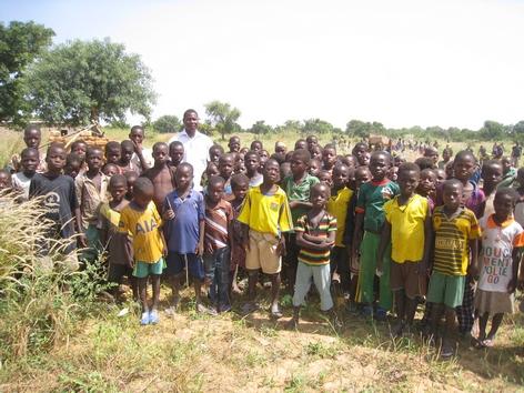 École - Journée plein air = récolte des haricots