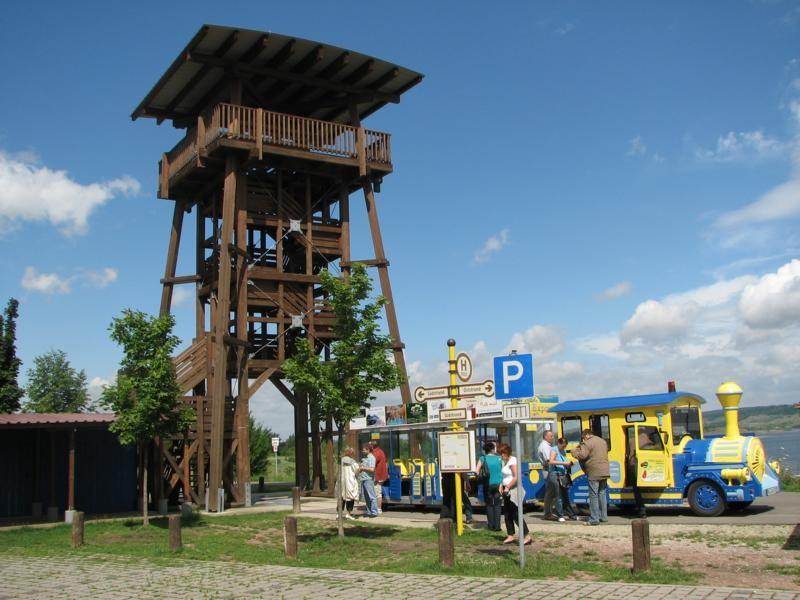 Ein Aussichtspunkt in der angrenzenden Ortschaft Neumark