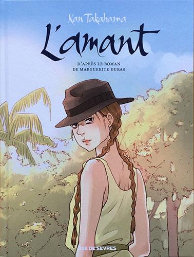 Titrage de couverture, L'Amant, Edition Rue de Sèvres