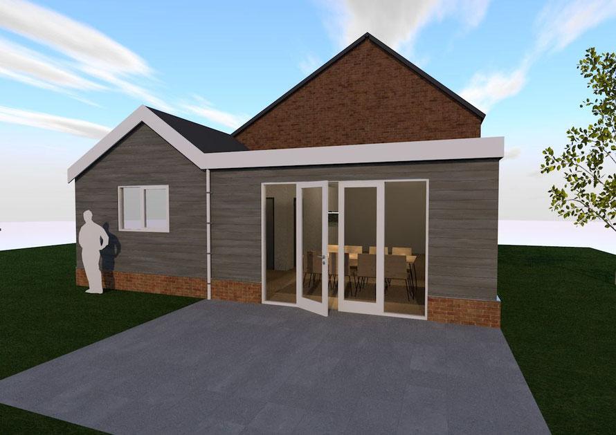 Aanbouw aan vrijstaande woning, Vlissingen (2020)