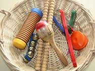 musical instrument treasure basket