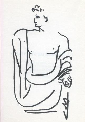 dibujo de Carlos de la Rica