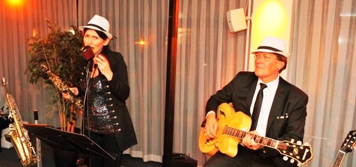 Livemusik zur Ü30 Party in der Stadthalle Rostock