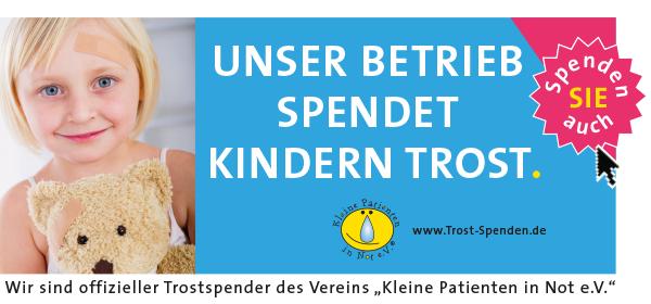 Spenden auch Sie Kindern Trost - Kleine Patienten in Not e.V.