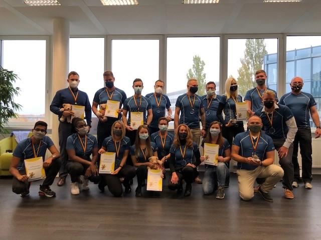 Aktion der Belegschaft der CONZEPTA´S Assekuranzmakler GmbH: Spende von 1.000,- € für die Anschaffung der wertvollen Trostspender-Bären!