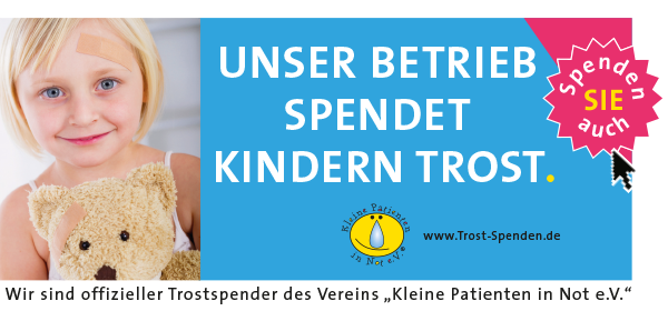 Helfen Sie Kindern mit einem Sponsoring von Kleine Patienten in Not e.V.