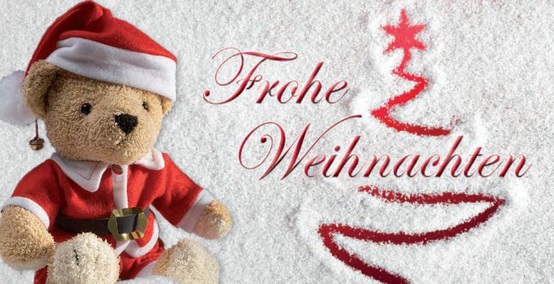 Vorderseite Weihnachtskarte 2021 von Kleine Patienten in Not e.V.