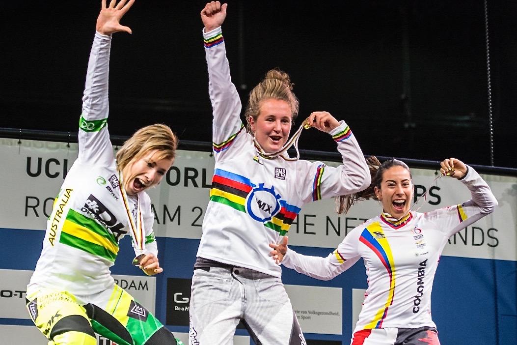WK BMX Rotterdam.