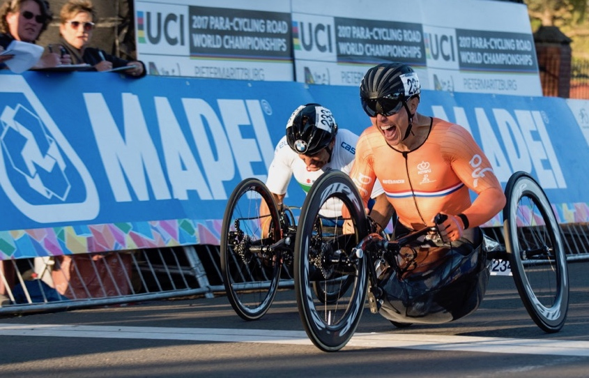 World Cup Para-Cycling Emmen 2017.