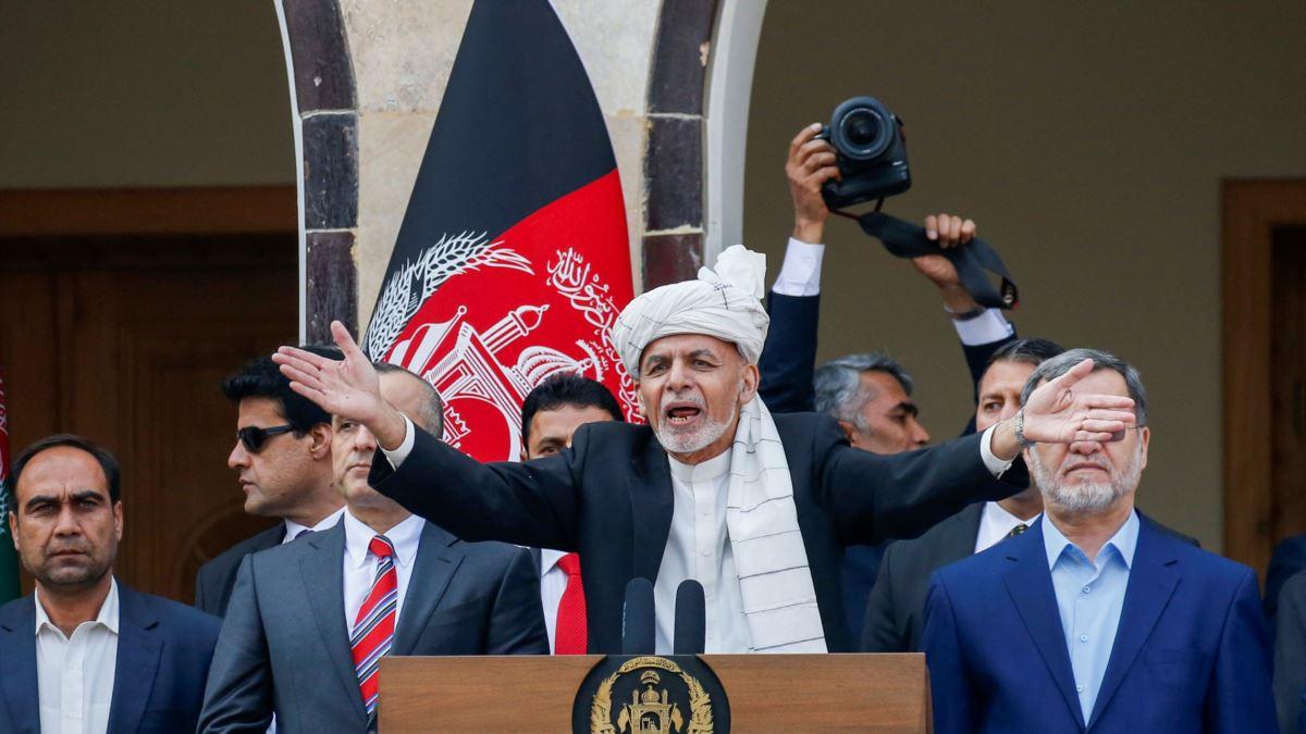 Inauguratie President Afghanistan.
