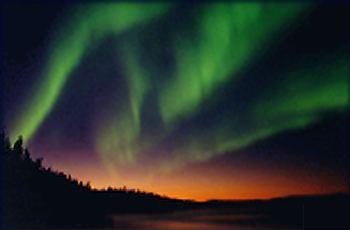 Figura 5.4 - Aurora Boreale
