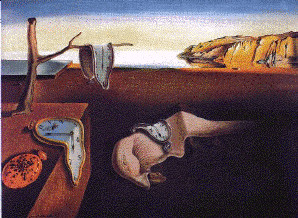 Figura 4.1 - Il Tempo secondo Salvator Dalì