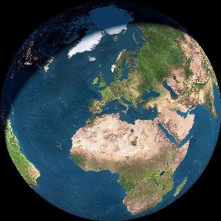 Figura 3.24 - La Terra vista dallo spazio