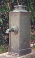 Borne fontaine Bayard, brevet 1901