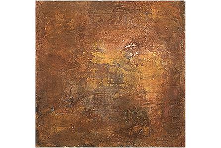 PISO TIERRA AGENA, 2007 masa-roca on MDF, 16 x 16 cms. Private Collection