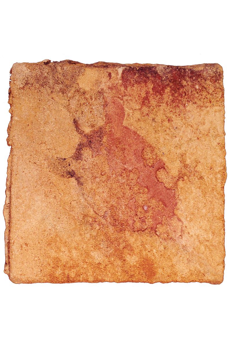 OCRE MAJO EL MAR, 2003 arenas erosionadas on canvas, 20 x 20 cms. SOLD