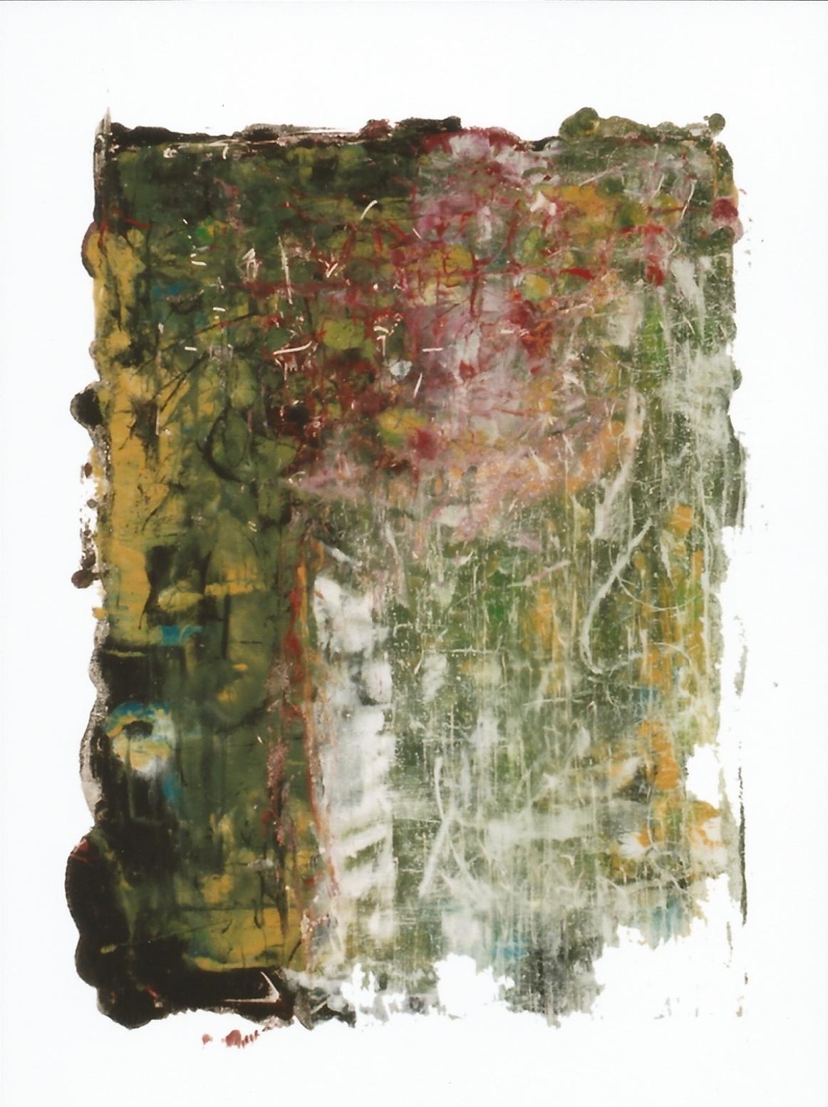 SOPLO DE VERANO, 2007 oil on glass, 27 x 20. $160