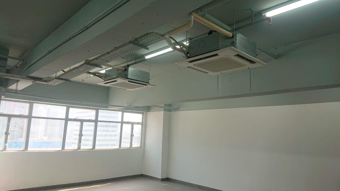 裝修工程@屯門工廈 恒威工業中心 Renovation@ Tuen Mun