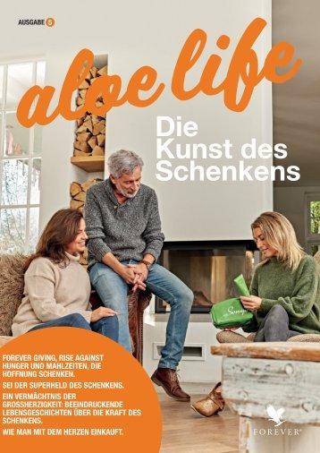 Cover Forever aloe life Magazin Ausgabe 5.