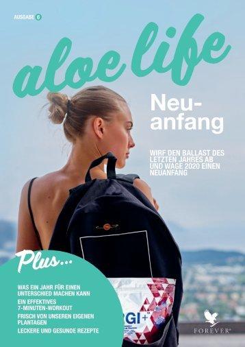 Cover Forever aloe life Magazin Ausgabe 6.