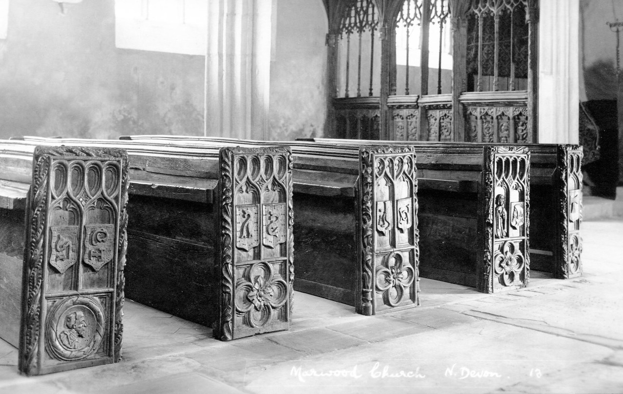 Pews at St Michael & All Angels
