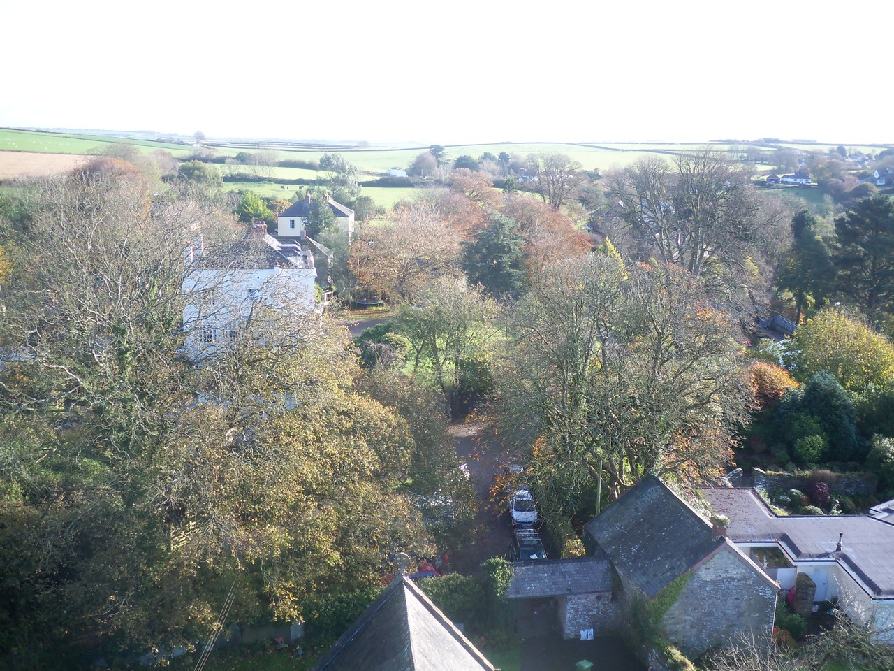 View from the Church tower, Nov '11