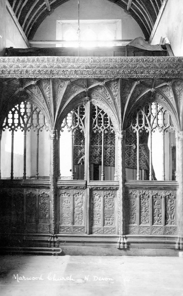 Rood screen at St Michael & All Angels