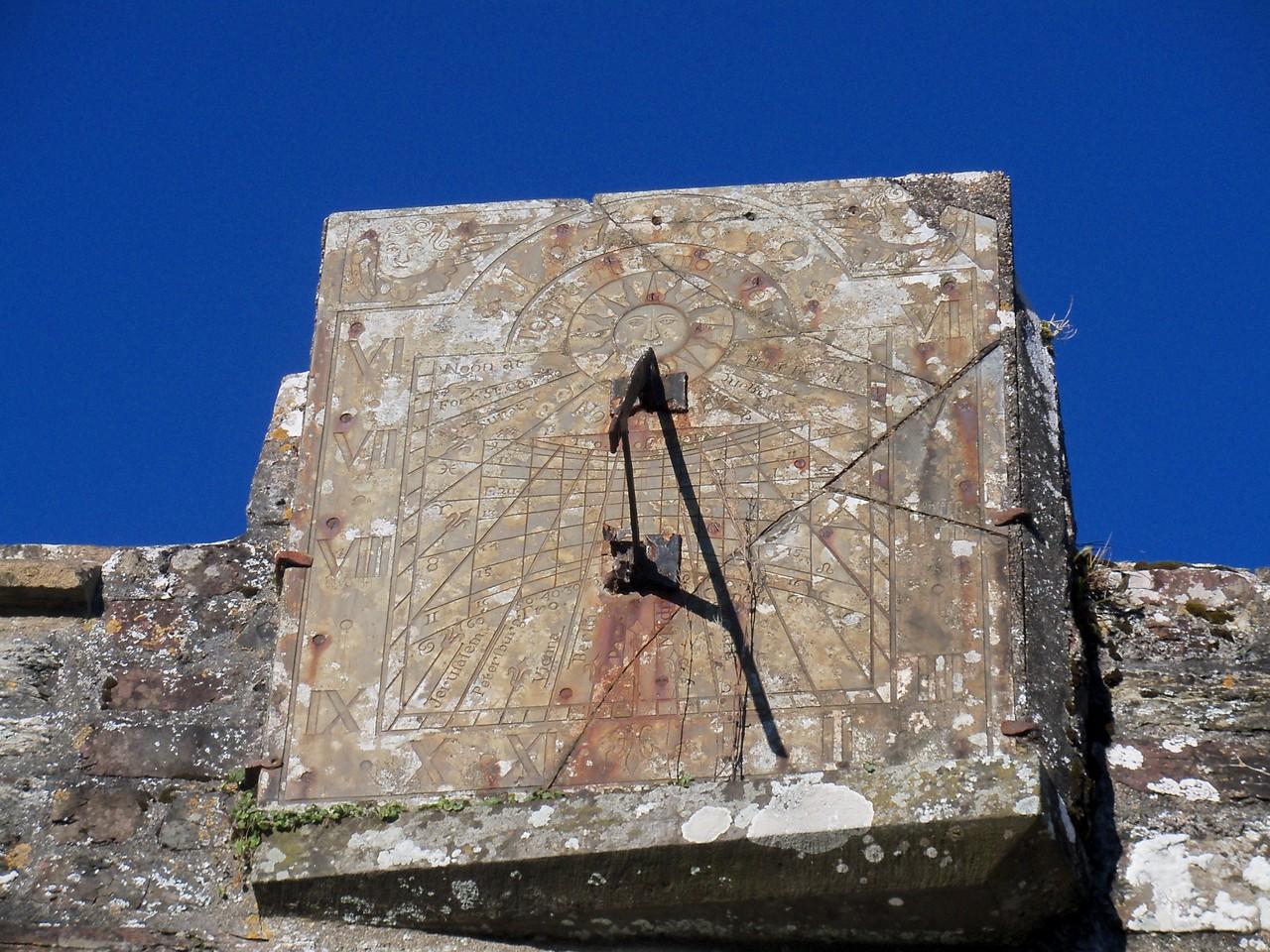 Berry Sundial, Marwood Parish Church, Sept '12
