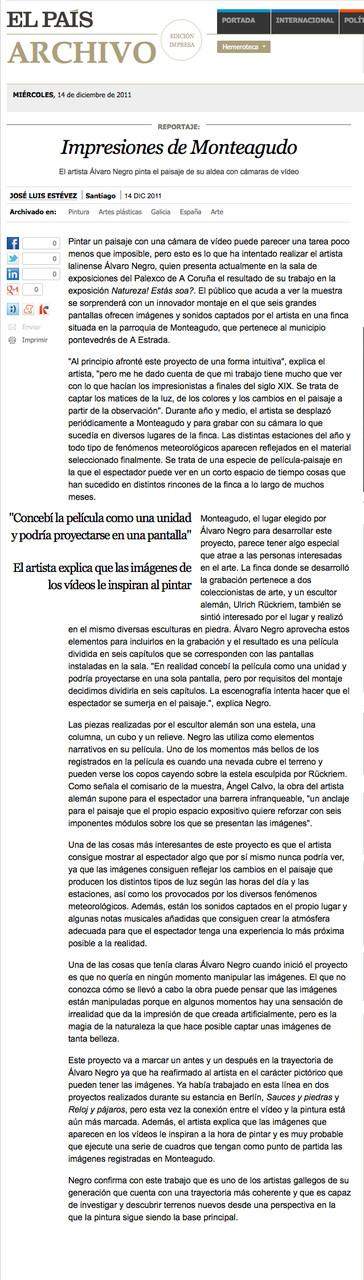 El País, December 2011