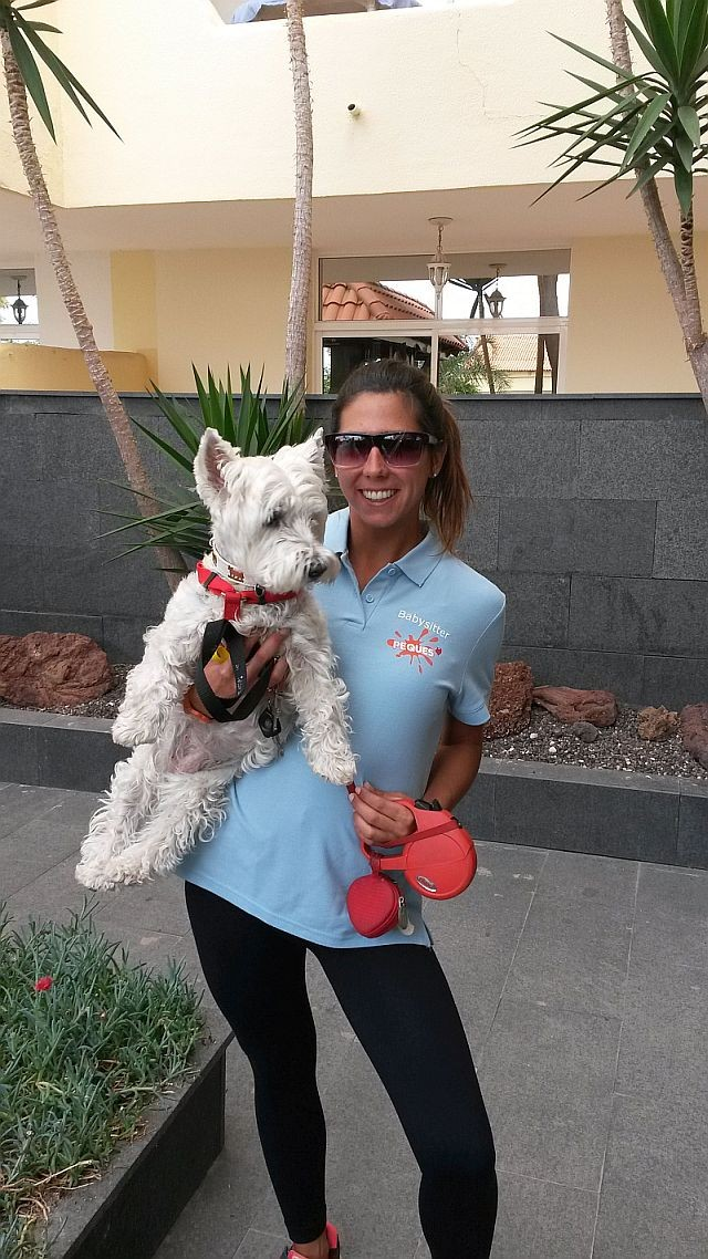 Hundebetreuung dogsitter Peques Teneriffa