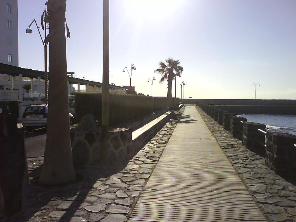 Promenade an der Hafenmole