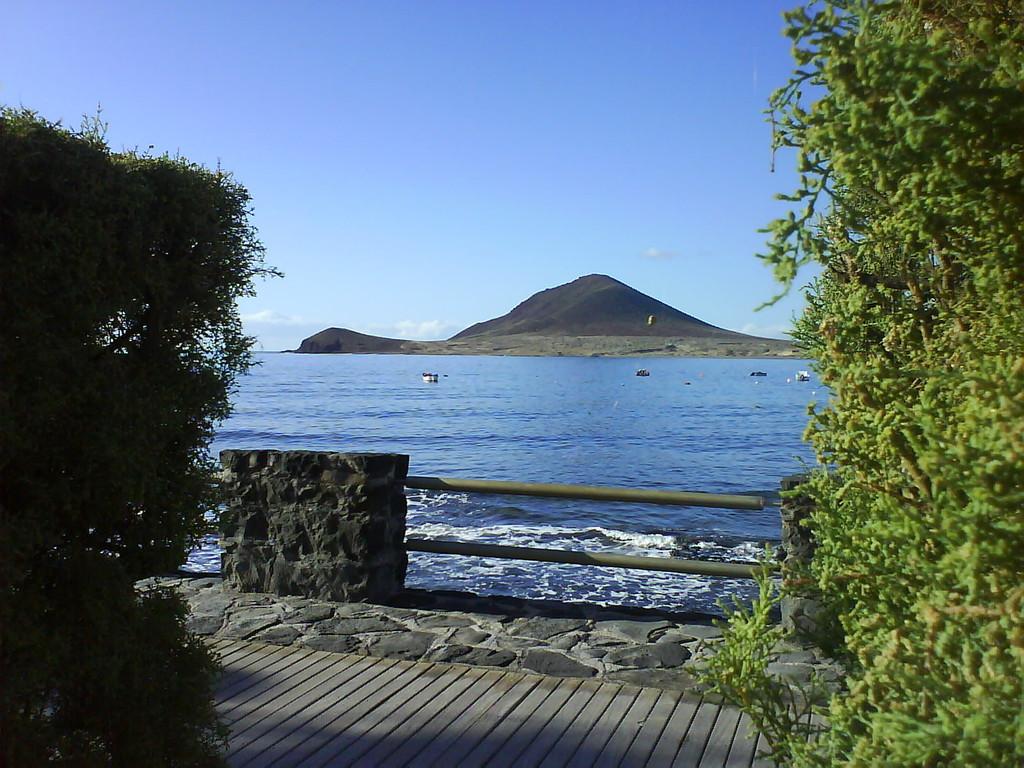 Sicht vom Appartment auf die Bucht von El Medano