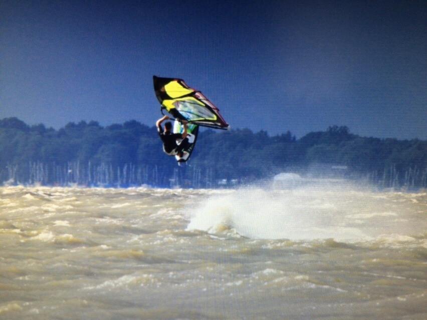 Serge Linnekuhl: Windsurf. Steinhuder Meer
