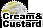 クレープクリーム&カスタード