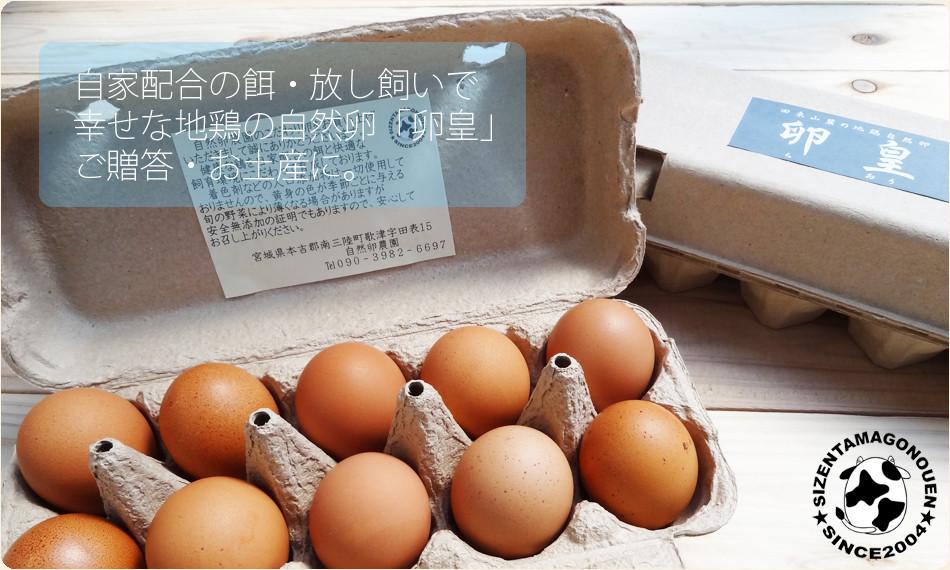 自然卵「卵皇」