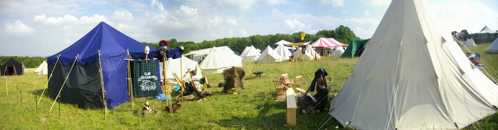 Clan McCregger Zelte - Drachenfest 2010