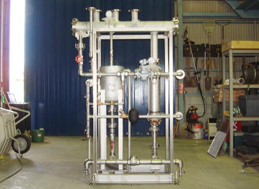 蒸気間接加熱湯気発生装置(クリーンスチーム)