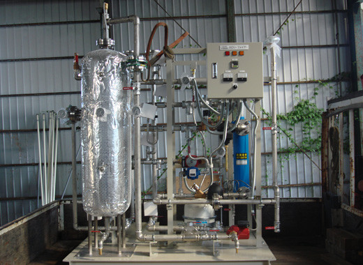 蒸気間接加熱給湯装置(カロリーファイヤー)