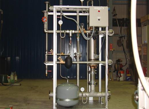 暖房用蒸気間接過熱給湯装置(カロリーファイヤー)