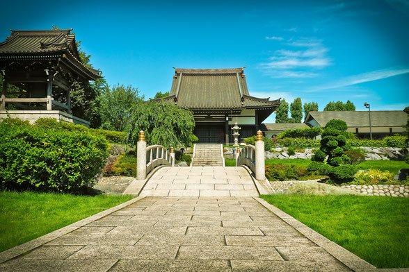 japanischer Garten Düsseldorf - Foto: Michael Gaida / pixabay