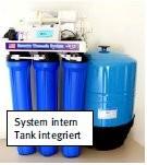 RO400B - systeminterner Tank