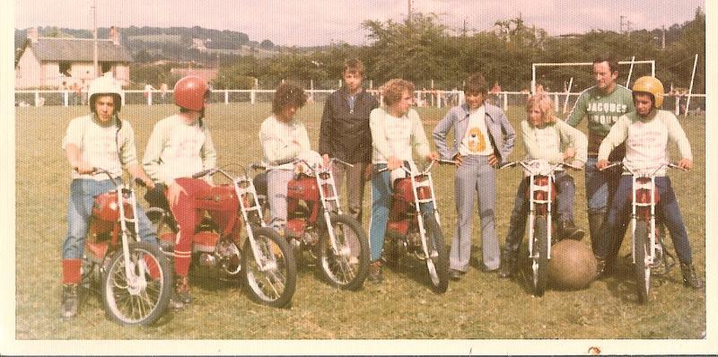 première équipe Cadets  FFM .(1974)