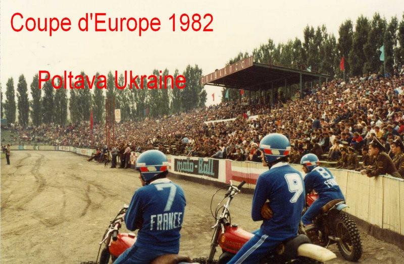 1982équipe de France à Poldava Ukraine