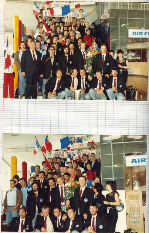 1982 retour d'URSS