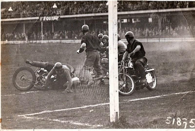 1950 Finale  C de France a Courbevoix( Carpentras Houlgate )
